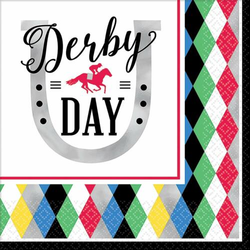 Derby Day Horse Race Kentucky Sports Racing Theme Party Paper Luncheon Napkins