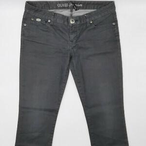 Guess-Starlet-straight-leg-w29-l32-Gris-Femmes-Designer-Denim-Jeans-Pantalon-Vintage