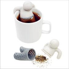 Infuseur Infusion Thé Filtre Boule Bonhomme Mr Mister Monsieur Tea Silicone Neuf