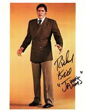 RICHARD KIEL as JAWS from JAMES BOND Full-length Color Photo - SIGNED in Person