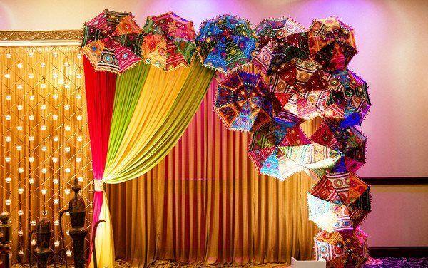 Wholesale-Handmade Indian Wedding-Umbrellas Sun Shade Parasol Bridal-Shower 24