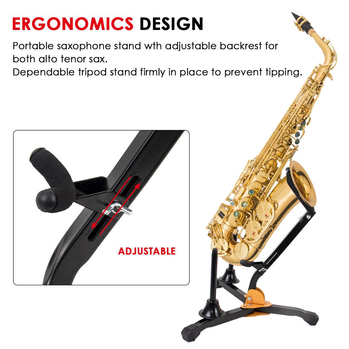 BSX Kombinationsständer Ständer für Alt und Tenorsaxophon Saxophonständer Neu