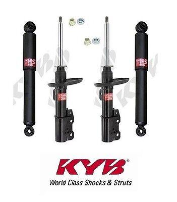 Set of 4 KYB Excel-G Shocks/Struts 2-Front & 2-Rear Cobalt HHR