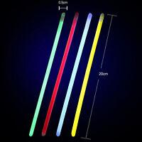100pcs Bracelets New Mix Glow Stick Party Birthday Necklace 3-5hours Lighting