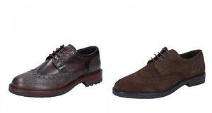 J. BREITLIN scarpe uomo classiche marrone due modelli in pelle e camoscio