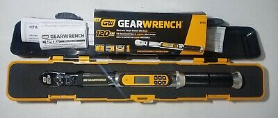 Gearwrench 85195 3//8 120XP Flex Head Electronic Torque Wrench with Angle