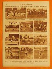 Le Miroir des Sports 488 du 25/6/1929-Steeple-chase 1re Dartigues 2ème Cuignet