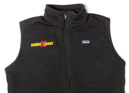 Vest 10k Patagonia Front Black Derby Dame Zip L Sweater Fleece Berbee Large Zwx6pq5
