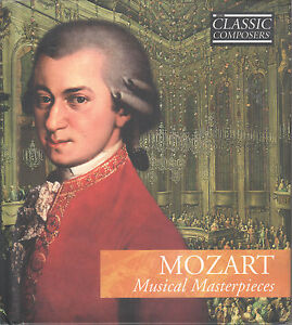 Details about Mozart: Musical Masterpieces - Classical Composers Vol  3  (CD/Book) Dutch Imp