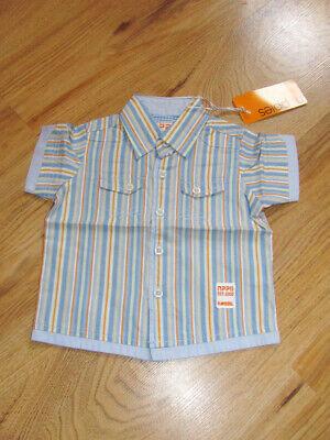 Noppies Bambini Giovani Marche Camicia Strisce Tg. 98 Multicolor Nuovo Shirt 130032- Materiale Selezionato
