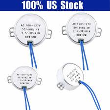 10-12RPM 1pc AC 100-127V 4W Moteur synchrone 50//60Hz CCW//CW Motor/éducteur Moteur /électrique synchrone