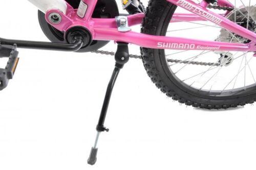 """Ammaco 18/"""" 20/"""" roues Enfants Pliable Vélo Junior Réglable propstand Alliage Noir"""