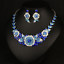 Fashion-Women-Pendant-Crystal-Choker-Chunky-Statement-Chain-Bib-Necklace-Jewelry thumbnail 108