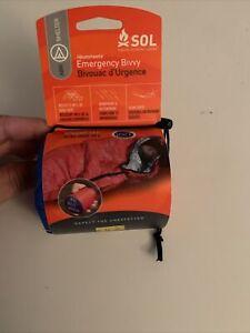 SOL Orange 1 Person Emergency BIVVY Blanket New Survival Prepper Shelter