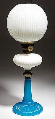 ONION / EATON - SMALL KEROSENE STAND LAMP Lot 467