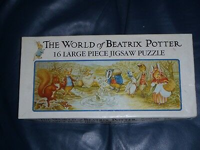 """""""il Mondo Di Beatrix Potter"""" 16 Grande Pezzo Puzzle-"""