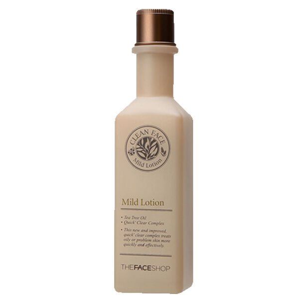 [THE FACE SHOP]  New Clean Face Line  Mild   Lotion  130ml / korea cosmetic