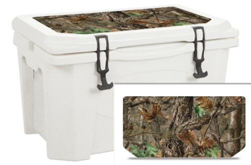 USATuff Sticker Wrap Lid Kit fits Grizzly 60qt Cooler Woodland Camo