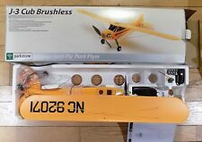 Parkzone J-3 Cub Brushless Charge in Fly Park Flyer PKZ4500 FM27 Channel 4 NIB