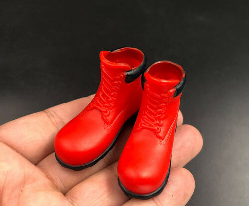 """1:6th Accessory Hollow Martin boots Shoes Model  For 12/"""" Male Figure Doll Toys"""