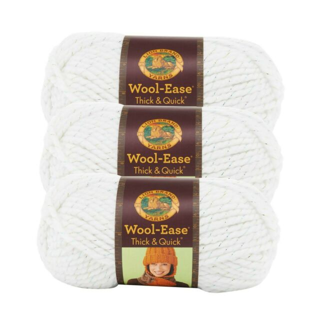 Lion Brand 640-535 Wool-Ease Thick /& Quick Yarn-River Run