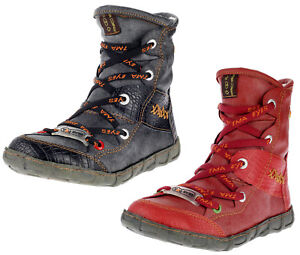 TMA Stiefeletten Damen Comfort Winterschuhe Boots gefüttert Winterstiefel 2082