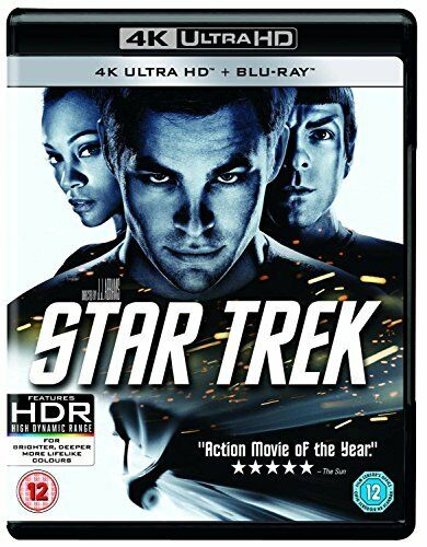 Star Trek (2009) [Blu-ray] [2017] [DVD][Region 2]