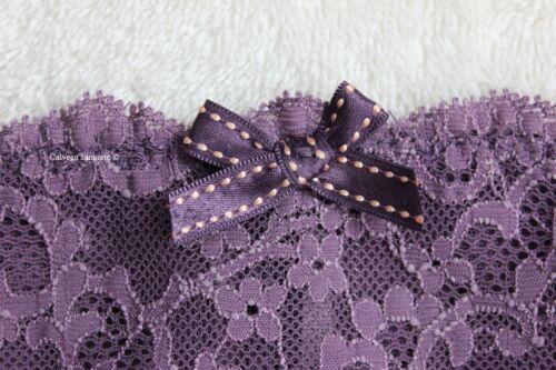 "4XL NWT Chantelle 3087 /""Rive Gauche/"" Lace Brief Bikini Mauve /""Fig Purple/"""