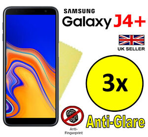3x-Hq-Matte-Anti-Reflet-Ecran-Housse-Protection-Pour-SAMSUNG-GALAXY-J4-PLUS