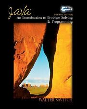 Java: An Introduction to Problem Solving and Programming (4th Edition)