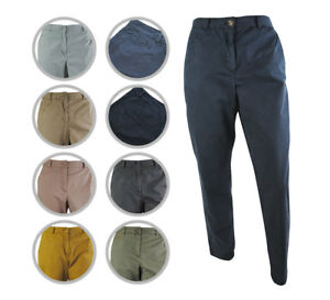 Womens-Ex-Marks-amp-Spencer-Chinos-Smart-Casual-Trousers-Size-6-to-22-M-amp-S-Pants