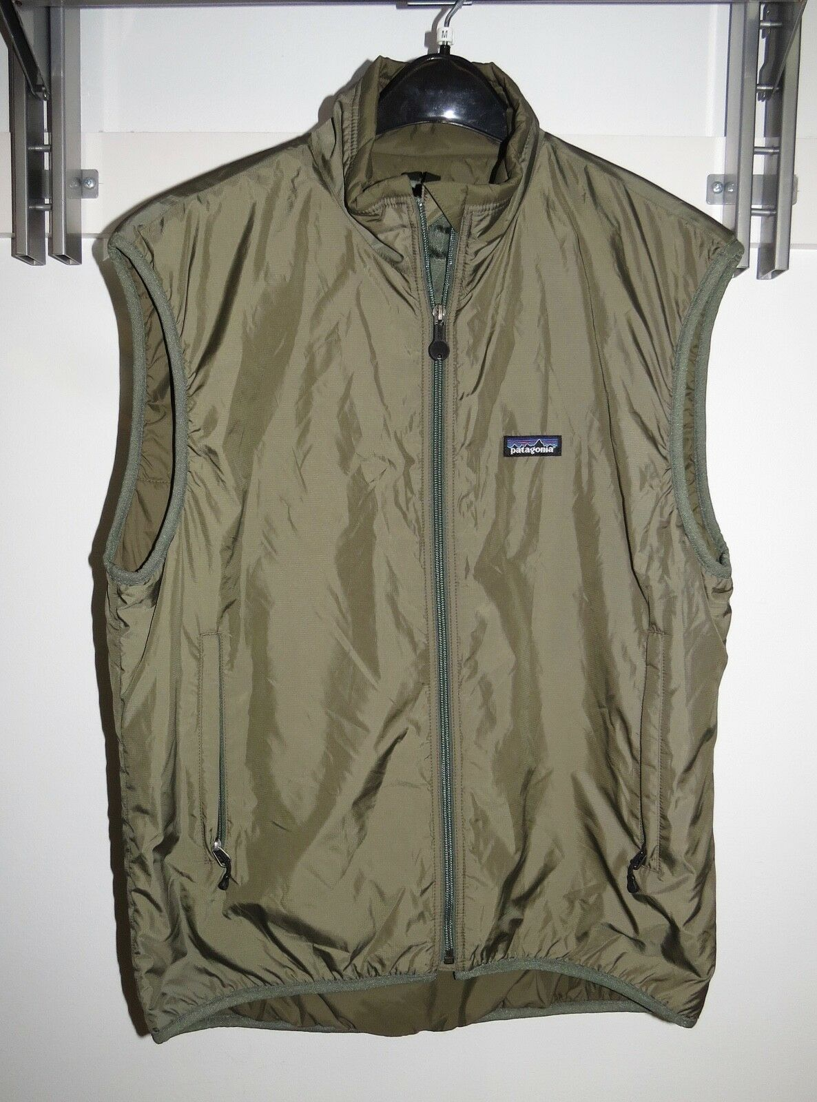 Patagonia Puff-Ball Size Vest ALP Size Puff-Ball Medium special forces Style 19005 X15 verde a13514