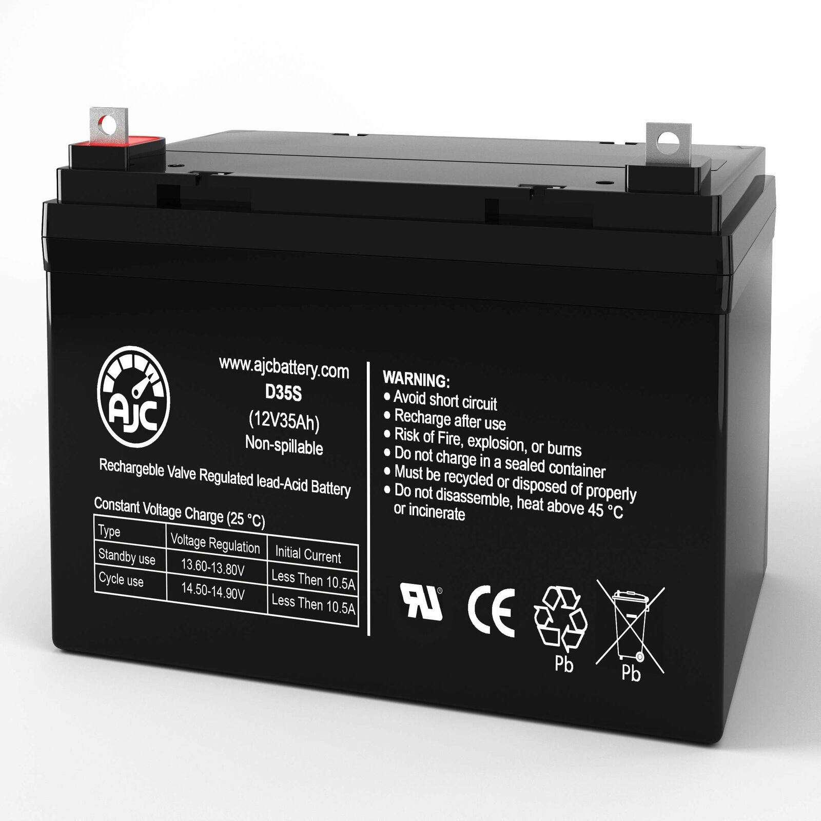 Pride Mobility Legend 12V 35Ah Mobility Scooter Replacement Battery