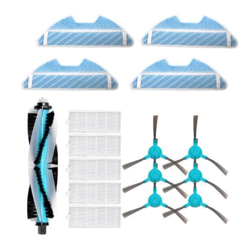 Filterseite Hauptbürste Reinigungstuch Teil für Conga 1290 1390 Serie