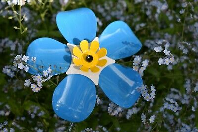 Forget Me Not Metal Flower Garden Decorative Charity Cynthia Spencer Hospice
