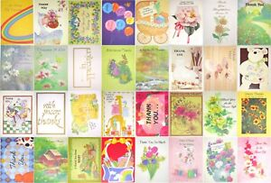 8-pk-Thank-you-Greeting-cards-Wedding-Baby-amp-Bridal-Showers-Christmas-gift