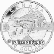 Canada 2013 Oh! Canada Series 5 Summer Fun in the Sun $10 Pure Silver Proof