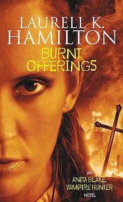 """AS NEW"" Hamilton, Laurell K., Burnt Offerings, Paperback Book"