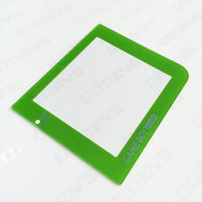 GREEN Colour Nintendo Game Boy Pocket GBP New Replacement Screen Cover Plastic