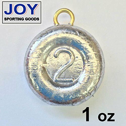 River 1 oz Fishing  Sinker, Lead, Weight  low price