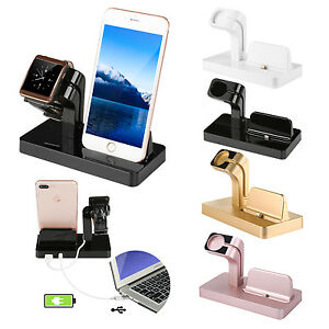 Charging-Stand-Mount-Cradle-Station-Dock-for-Apple-Watch-and-iPhone-X-6-6s-5-7-8