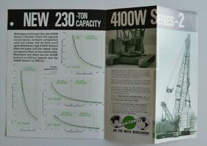 MANITOWOC-4100W-Serie-2-Tower-Crane-1978-dealer-brochure-catalog-English-USA