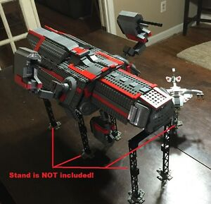 Details about Custom Lego Star Wars D7 Mantis Star ship with Crew and Cargo!