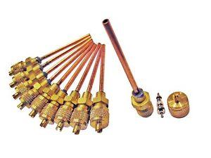 Elettrodomestici Altro Frighi E Congelatori Confezione Da 10 Schrader Frigo Gas Accesso Valvole 6mm 53un82