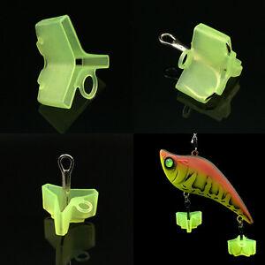 10 50pcs durable fishing treble hooks jig covers case for Fishing hook protector