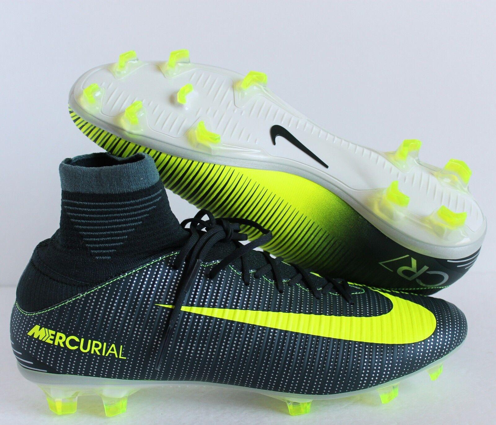 Nike volubile veloce iii di cr7 fg scarpini da calcio sz 9 [852518-376]