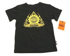 308e751c Nike Little Boys Size 4 Black Nike 6.0 T Shirt New | eBay