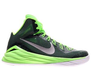 competitive price 9ee2f 6338d Image is loading NEW-Mens-Nike-Green-Hyperdunk-2014-TB-Team-