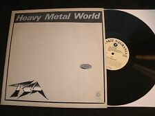 TSA - HEAVY METAL WORLD - 1986 Poland Vinyl 12'' Lp./ Exc./ Hard Rock Metal