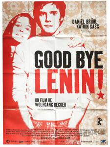 Poster-Folded-120x160cm-Good-Bye-Lenin-2003-Daniel-Bruhl-Katrin-Sass-Vgc